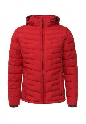Куртка утепленная Malinardi. Цвет: красный