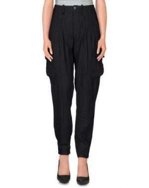 Повседневные брюки POLO JEANS COMPANY. Цвет: черный