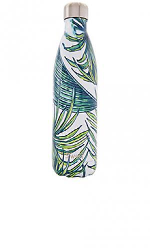 Бутылка для воды 25 унций resort Swell S'well. Цвет: зеленый
