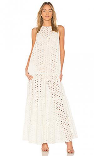 Платье dolce Paper London. Цвет: ivory