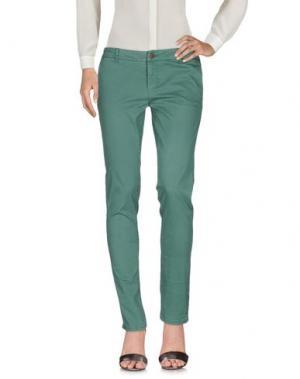 Повседневные брюки SUN 68. Цвет: зеленый