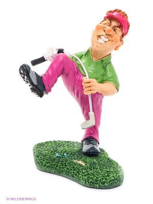 Фигурка Я люблю гольф! The Comical World of Stratford. Цвет: зеленый, кремовый, фуксия, черный