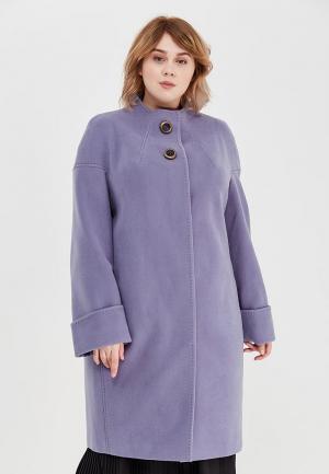 Пальто Grand Madam. Цвет: фиолетовый