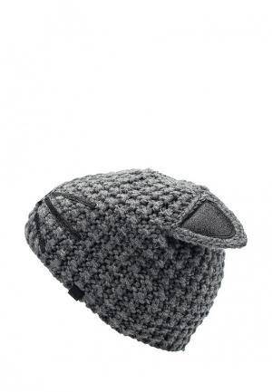 Шапка Karl Lagerfeld. Цвет: серый