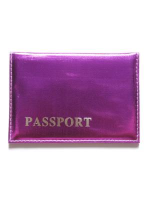 Обложка для паспорта Lola. Цвет: фиолетовый