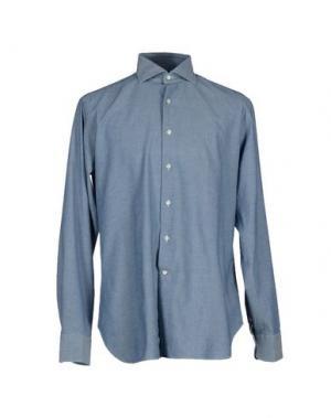 Pубашка ALESSANDRO GHERARDI. Цвет: синий