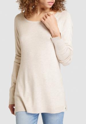 Джемпер Easy Wear. Цвет: бежевый