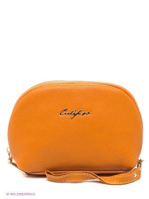Косметичка Calipso. Цвет: оранжевый