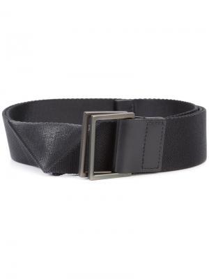 Inverted slit belt Issey Miyake. Цвет: чёрный