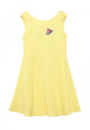 Платье Acoola. Цвет: желтый