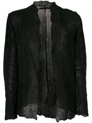 Embossed jacket Salvatore Santoro. Цвет: чёрный