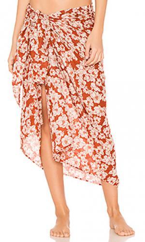 Пареро kaua Acacia Swimwear. Цвет: красный