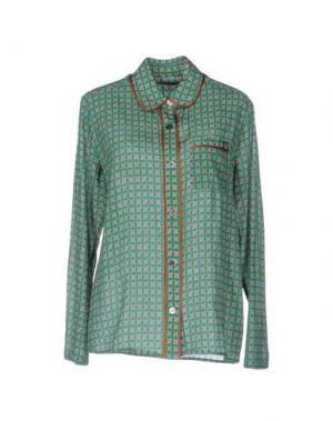 Pубашка LAURA URBINATI. Цвет: зеленый