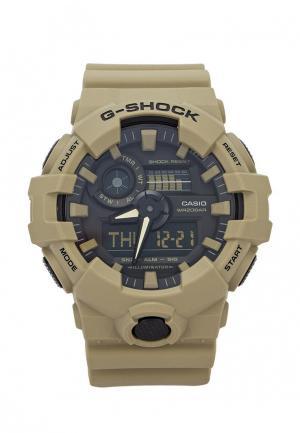 Часы Casio. Цвет: хаки