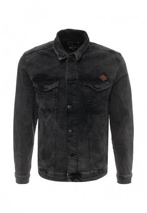 Куртка джинсовая LC Waikiki. Цвет: серый