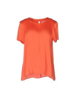Блузка ANTONELLI. Цвет: коралловый