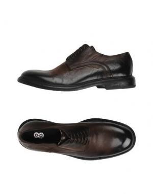 Обувь на шнурках 8. Цвет: темно-коричневый