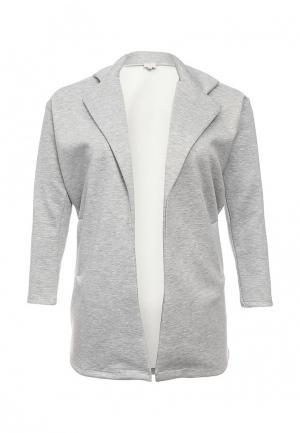Пальто Just Joan. Цвет: серый