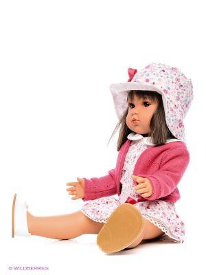 Кукла Белла в шляпке Antonio Juan. Цвет: бледно-розовый
