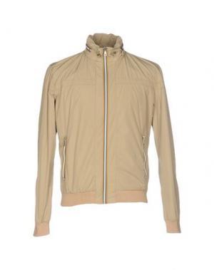 Куртка (M) MAMUUT DENIM. Цвет: бежевый