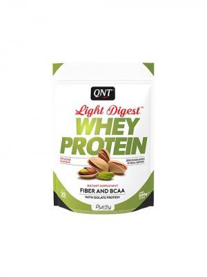 Протеин Light Digest Whey Protein (фисташка) 500 гр QNT. Цвет: белый