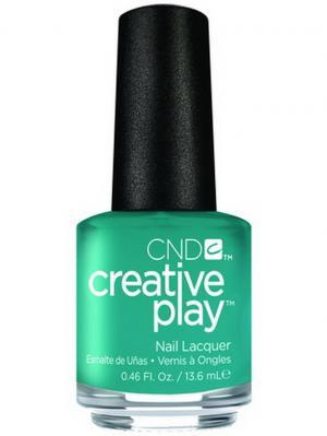 Лак для ногтей CND 91103 Creative Play # 432 (Head Over Teal), 13,6 мл. Цвет: синий