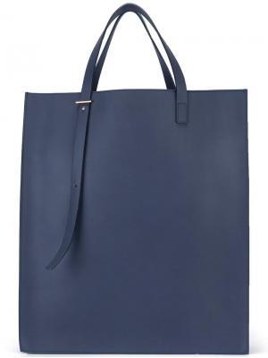 Прямоугольная сумка-тоут Pb 0110. Цвет: синий