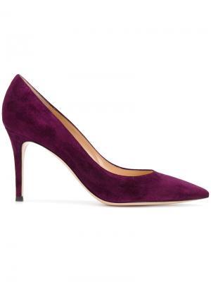 Туфли на шпильке Gianvito Rossi. Цвет: розовый и фиолетовый