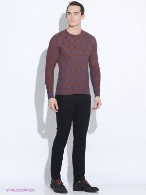 Джемпер Club21. Цвет: бронзовый, фиолетовый, темно-красный