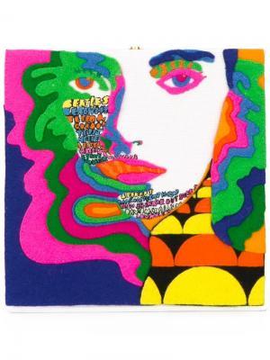 Клатч с рисунком Olympia Le-Tan. Цвет: многоцветный