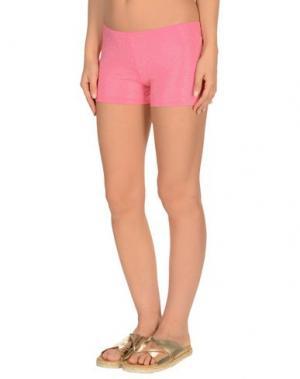 Пляжные брюки и шорты FISICO. Цвет: розовый