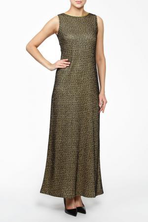 Платье MSW ATELIER. Цвет: золотой
