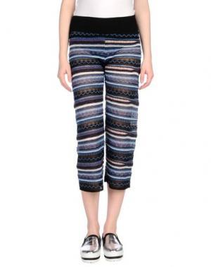 Повседневные брюки LANEUS. Цвет: темно-синий