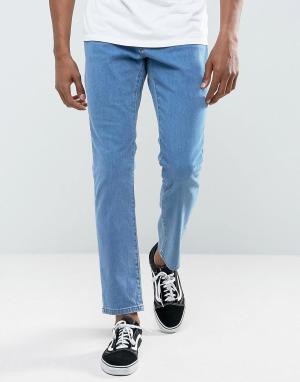 Brooklyn Supply Co. Выбеленные джинсы скинни Co. Цвет: синий