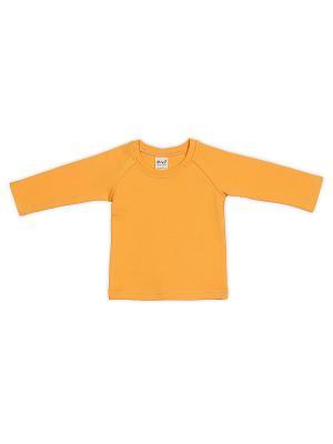 Лонгслив ЕМАЕ. Цвет: желтый