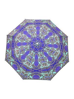 Зонт Slava Zaitsev. Цвет: бирюзовый