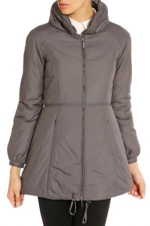 Пальто Marlys Marly's. Цвет: серый