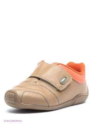 Ботинки Bibi. Цвет: темно-бежевый, оранжевый