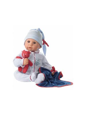 Кукла  Cookie, Карие Глаза GOTZ. Цвет: бежевый, синий