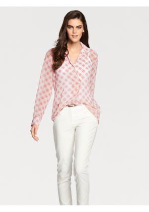Блузка PATRIZIA DINI by Heine. Цвет: розовый