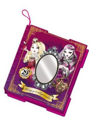 Подарочный набор для творчества 29 предметов Mattel Ever After High. Цвет: малиновый, фиолетовый