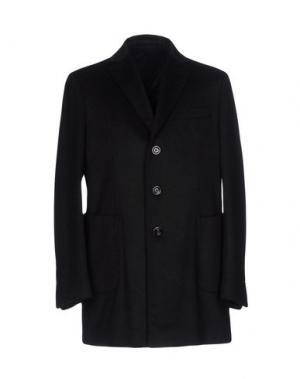 Легкое пальто DOMENICO TAGLIENTE. Цвет: черный