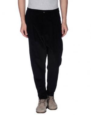 Повседневные брюки MNML COUTURE. Цвет: черный