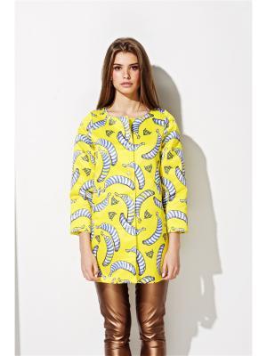Жакет Bananas iSwag. Цвет: желтый