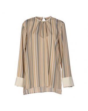 Блузка TROU AUX BICHES. Цвет: охра