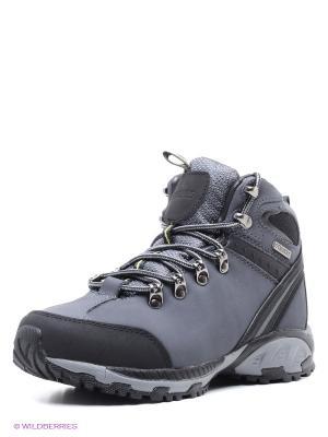 Ботинки STROBBS. Цвет: серый