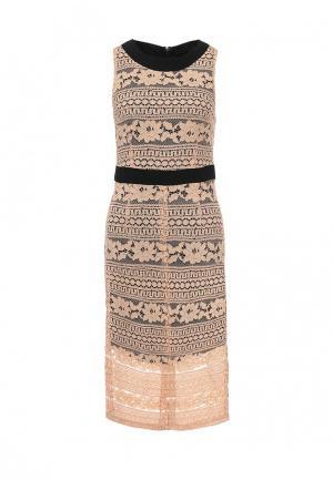 Платье Trussardi Jeans. Цвет: розовый