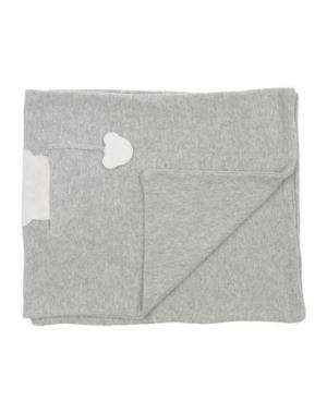 Одеяльце для младенцев NANÁN. Цвет: светло-серый