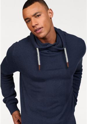 Пуловер BRUNO BANANI. Цвет: темно-синий