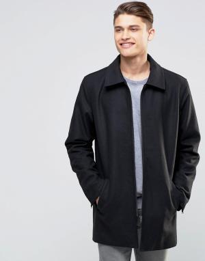 Another Influence Куртка-макинтош. Цвет: черный